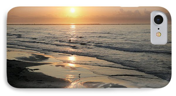 Texas Gulf Coast At Sunrise IPhone Case by Marilyn Hunt