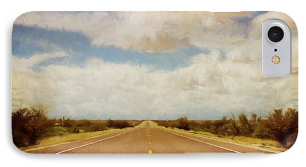 Texas Highway IPhone Case by Scott Norris