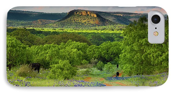IPhone Case featuring the photograph Texas Hill Country Ranch Road by Darryl Dalton