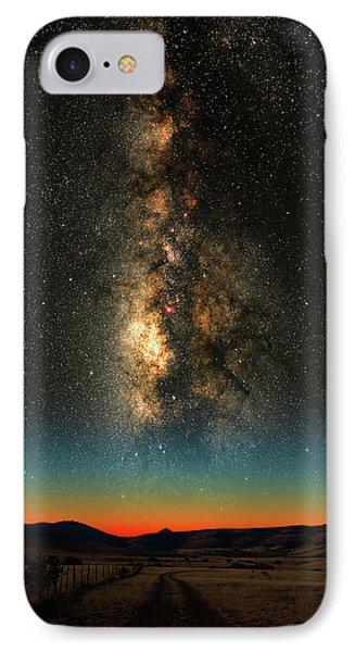 IPhone Case featuring the photograph Texas Milky Way by Larry Landolfi