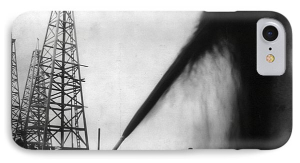 Texas: Oil Derrick, C1901 Phone Case by Granger