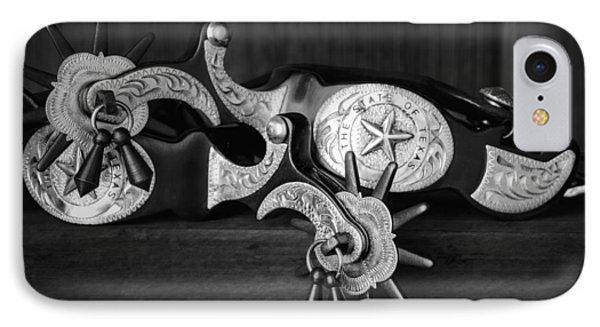 Texas Spurs IPhone Case by Tom Mc Nemar