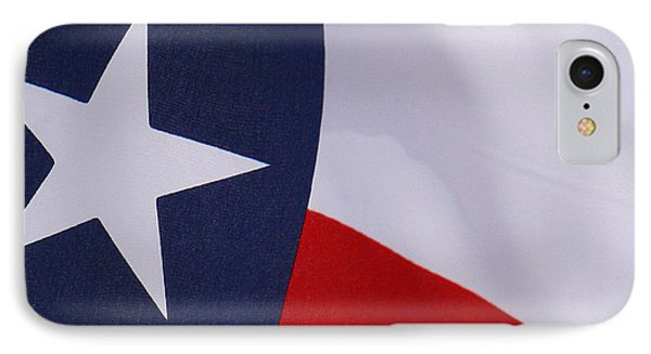 Texas Star IPhone Case by Roena King