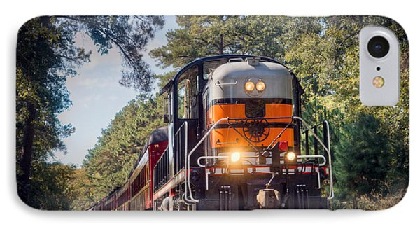 Texas State Railroad IPhone Case by Ray Devlin