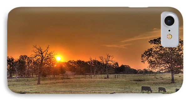Texas Sunrise IPhone Case by Barry Jones