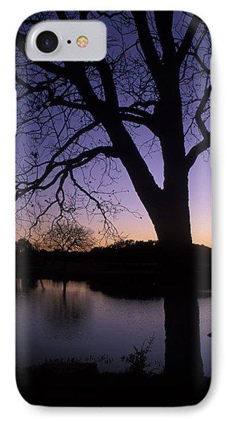 Texas Sunset On The Lake Phone Case by Kathy Yates