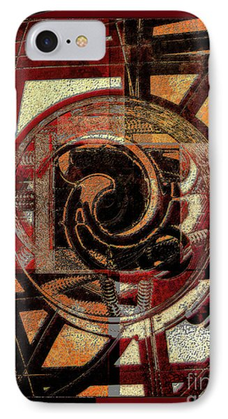 Textured Abstract IPhone Case