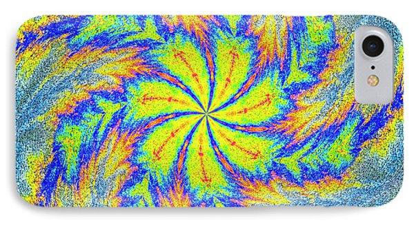 Textured Colors IPhone Case by Susan Leggett