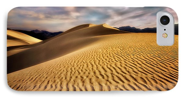 Textured Dunes  IPhone Case by Nicki Frates