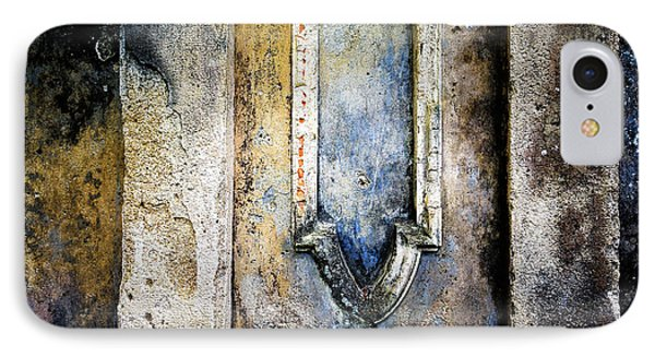 IPhone Case featuring the photograph Textured Wall by Marion McCristall