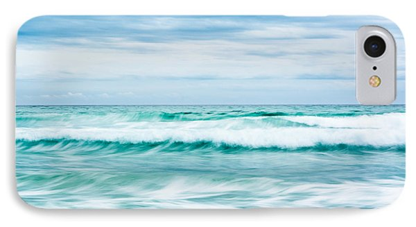 Textures In The Waves IPhone Case by Shelby  Young