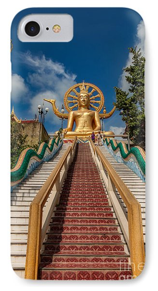Thai Big Buddha IPhone Case by Adrian Evans