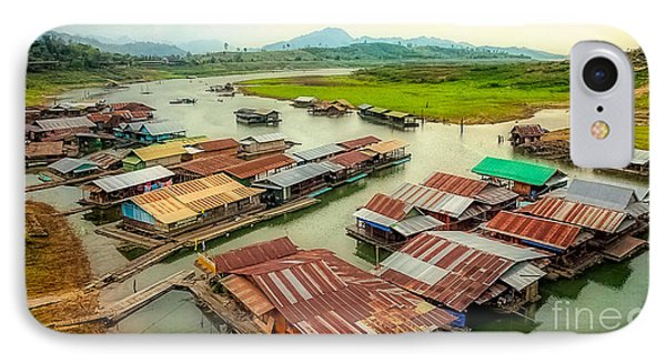 Thai Floating Village IPhone Case by Adrian Evans