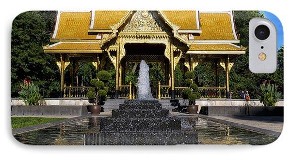 Thai Pavilion - Madison - Wisconsin IPhone Case by Steven Ralser