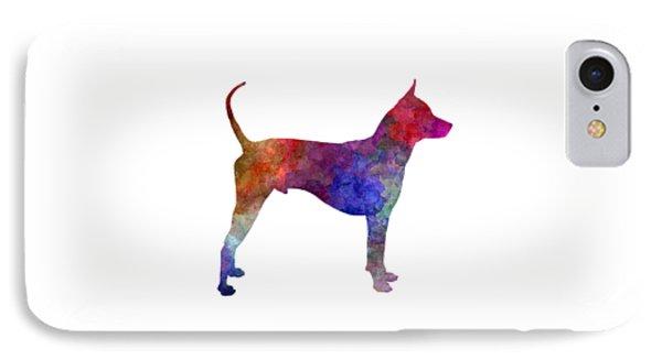 Thai Ridgeback Dog In Watercolor IPhone Case