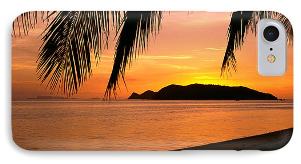 Thailand, Koh Pagan Phone Case by William Waterfall - Printscapes