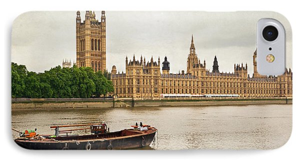 IPhone Case featuring the photograph Thames by Keith Armstrong