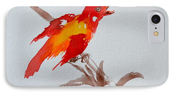 Thank You Bird IPhone Case by Beverley Harper Tinsley