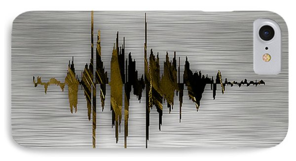 Thank You For Always Being There For Me Sound Wave IPhone Case