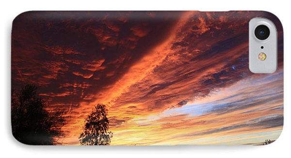 Thanksgiving Sunset IPhone Case by Gary Kaylor