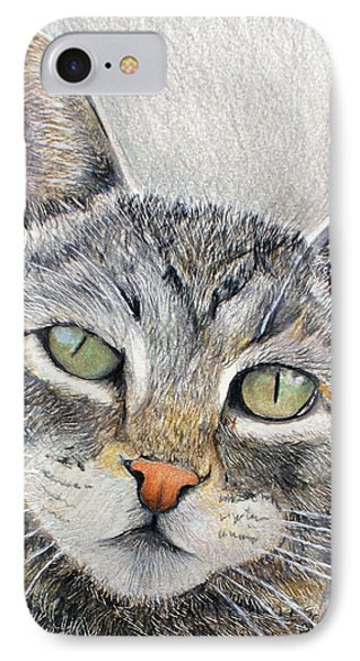 That Cat IPhone Case by Tim Ernst