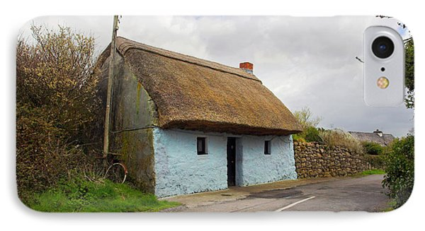 Thatch Roof Cottage Galway Phone Case by Pierre Leclerc Photography