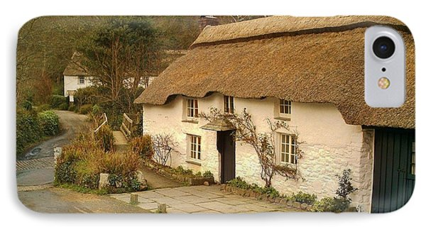 Thatched Cottage By Ford  IPhone Case by Richard Brookes
