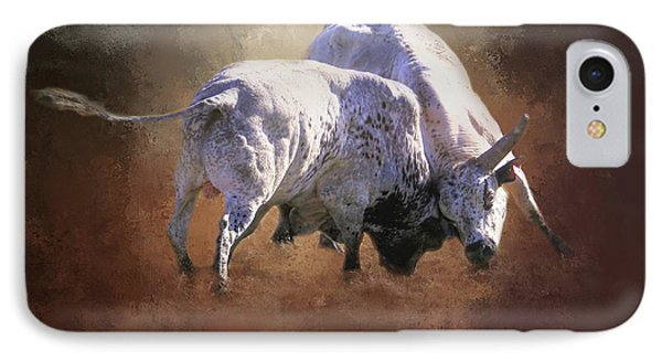 IPhone Case featuring the photograph That's A Lot Of Bull by Donna Kennedy
