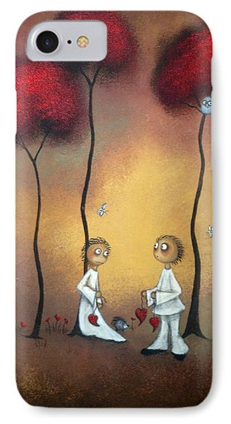 That's What Friends Are For Phone Case by Charlene Zatloukal