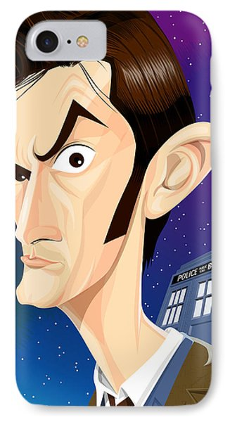 The 10th Doctor Phone Case by Kevin Greene
