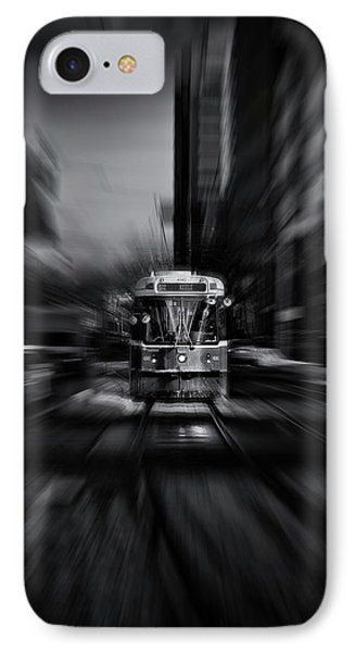 The 512 St. Clair Streetcar Toronto Canada Flow Phone Case by Brian Carson