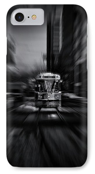 IPhone Case featuring the photograph The 512 St. Clair Streetcar Toronto Canada Flow by Brian Carson