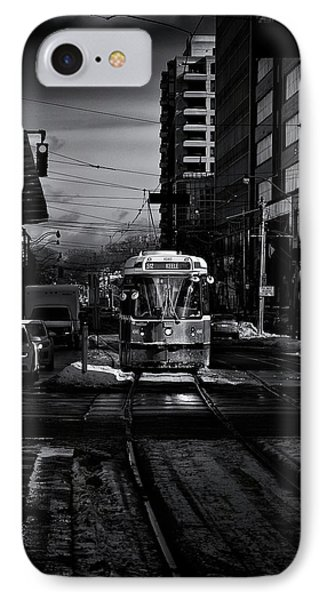 IPhone Case featuring the photograph The 512 St.clair Streetcar Toronto Canada by The Learning Curve Photography