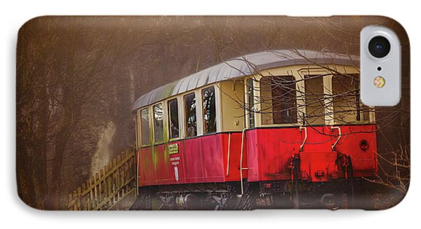 The Abandoned Tram In Salzburg Austria  IPhone Case by Carol Japp