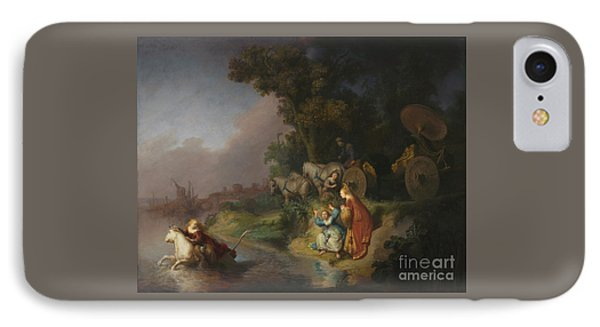 The Abduction Of Europa By Rembrandt Harmensz. Van Rijn IPhone Case by Esoterica Art Agency