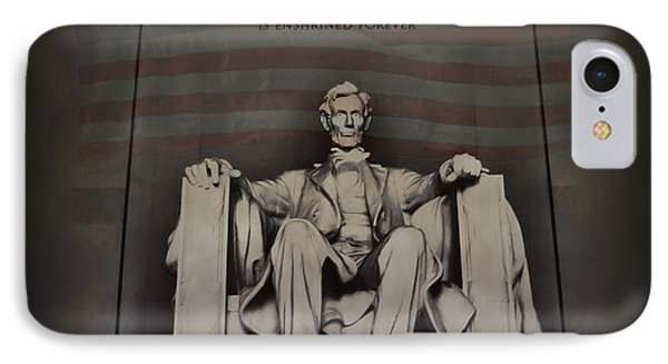 The Abraham Lincoln Memorial Phone Case by Bill Cannon
