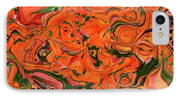 The Abstract Days Of Autumn Phone Case by Andee Design