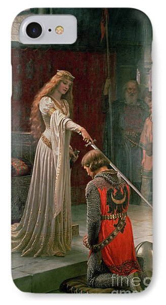 The Accolade IPhone Case by Edmund Blair Leighton