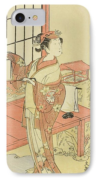 The Actor Segawa Kikunojo II, Possibly As Princess Ayaori In The Play Ima O Sakari Suehiro Genji  IPhone Case