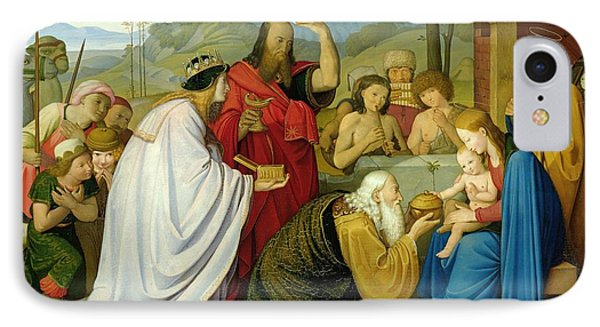 The Adoration Of The Kings IPhone Case by Bridgeman