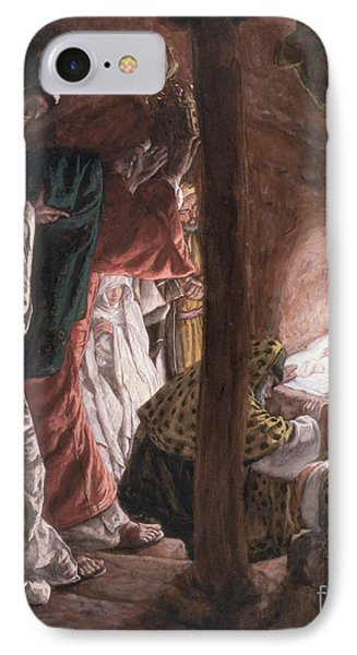 The Adoration Of The Wise Men Phone Case by Tissot