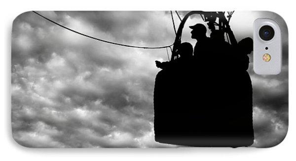 The Adventure Begins  Hot Air Balloon Phone Case by Bob Orsillo