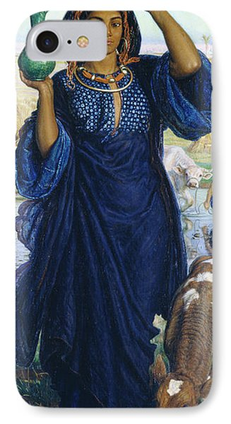 The Afterglow In Egypt IPhone Case by William Holman Hunt