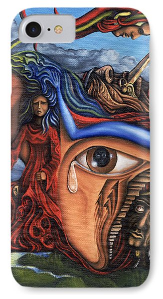 The Aftermath Phone Case by Karen Musick