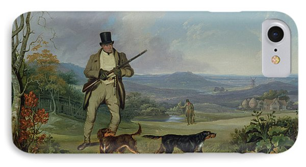 The Afternoon Shoot   IPhone Case by Philip Reinagle