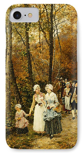 The Afternoon Stroll IPhone Case