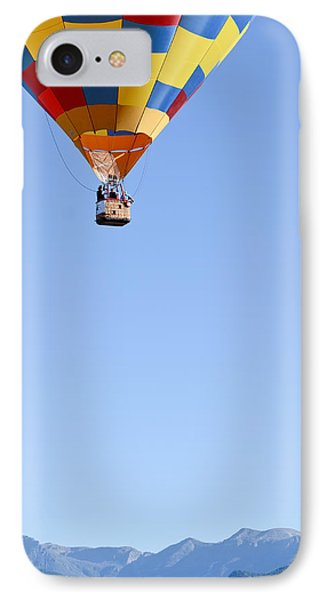 The Air Up There... IPhone Case by Kevin Munro