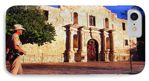 The Alamo And Ranger Phone Case by Thomas R Fletcher
