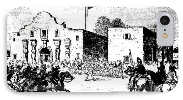 The Alamo Fort At San Antonio IPhone Case