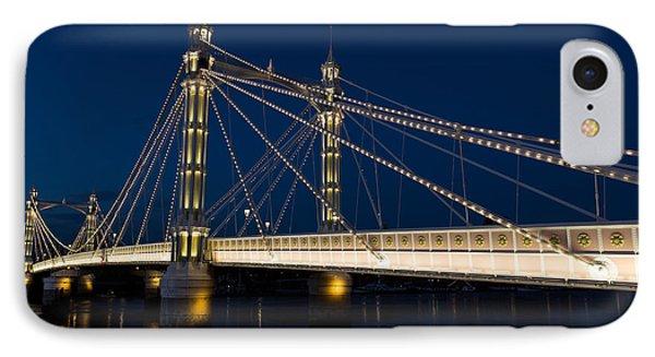 The Albert Bridge London IPhone Case